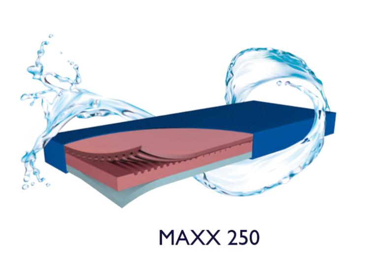 Mynd MAXX-250 dýna - þrjú svamplög