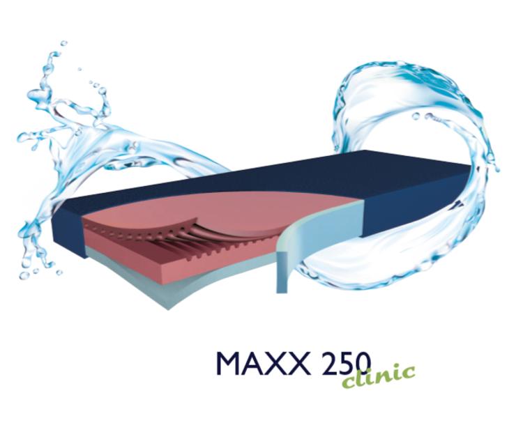 Mynd MAXX-250 dýna - þrjú svamplög og m/styrktum kanti
