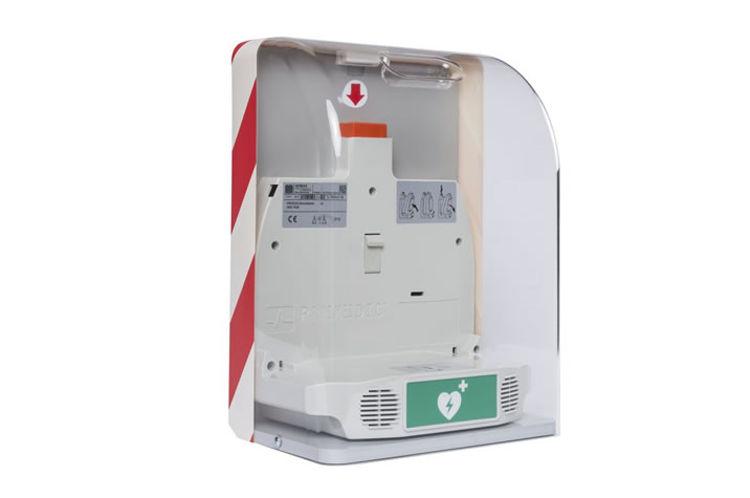 Mynd Savebox fyrir PAD/AED hjartastuðtæki