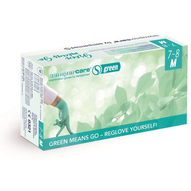 Mynd Hanskar Nitril Green XS-XL